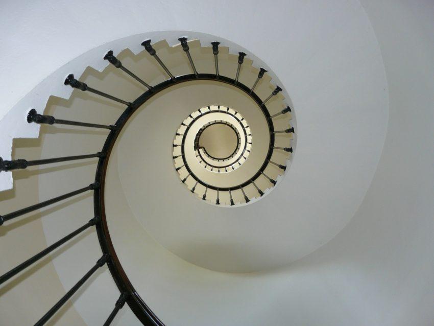 mat de l'escalier