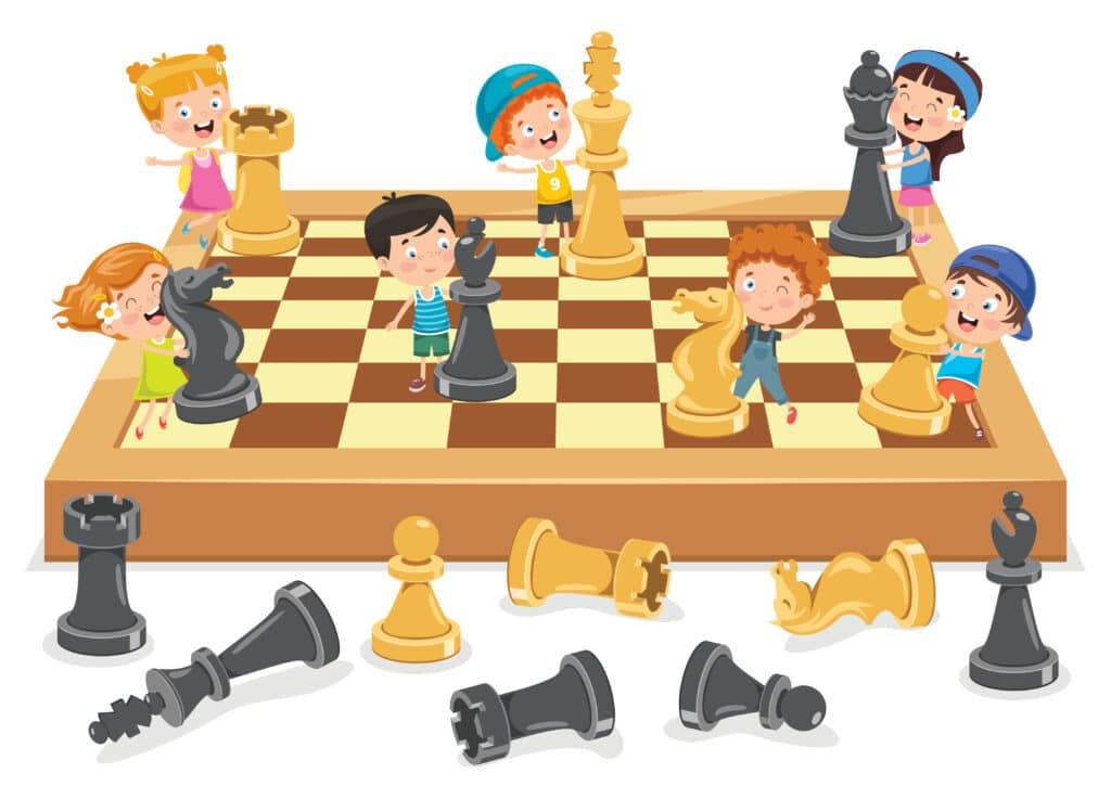 jouer aux échecs avec son enfant