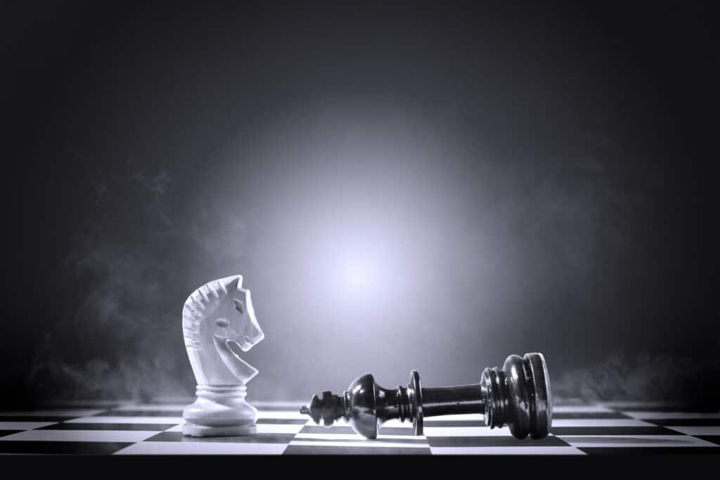 Les finales de Cavalier aux échecs